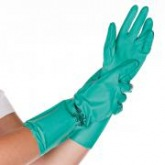 Nitrile gloves PROFESSIONAL, non- sterile, not powdered, GREEN, length 46 cm Franz Mensch
