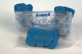 Shoe covers, blue, 100 pcs. Van Oostveen Medical B.V.