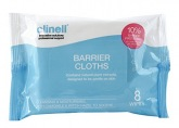 Barrier Cloths Clinell, 8 pcs. GAMA Healthcare