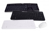 Easyclean wireless washable silicone keyboard, white GAMA Healthcare