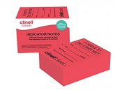 Clinell Clean indicator notes, 4 x 250 pcs. GAMA Healthcare