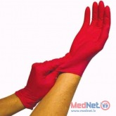 Nitrile gloves SAFE LIGHT, non-sterile, powderfree, GREEN, RED, PURPLE, PINK Franz Mensch